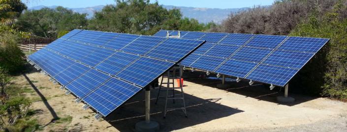 On-Ground Installation of Solar Panels in Ventura County, CA